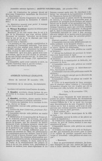 Tome 35 : Du 11 novembre au 10 décembre 1791 - page 453