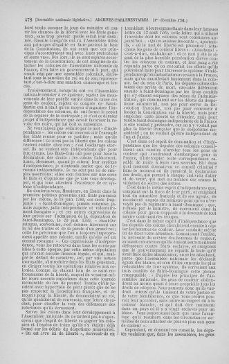 Tome 35 : Du 11 novembre au 10 décembre 1791 - page 478
