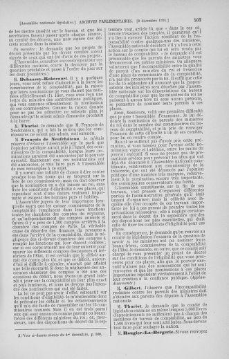 Tome 35 : Du 11 novembre au 10 décembre 1791 - page 505