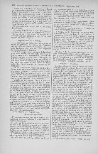 Tome 35 : Du 11 novembre au 10 décembre 1791 - page 526