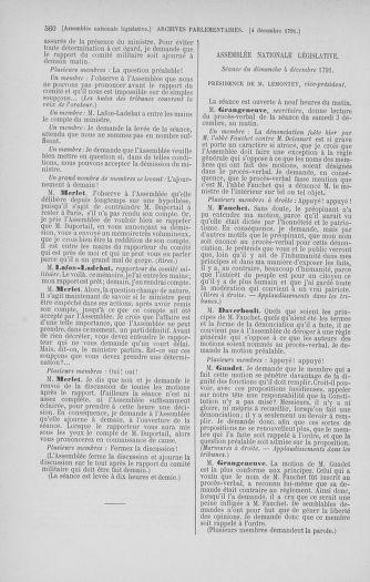 Tome 35 : Du 11 novembre au 10 décembre 1791 - page 560