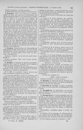 Tome 35 : Du 11 novembre au 10 décembre 1791 - page 561