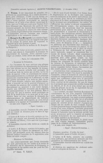 Tome 35 : Du 11 novembre au 10 décembre 1791 - page 577