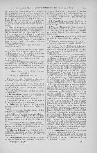 Tome 35 : Du 11 novembre au 10 décembre 1791 - page 593