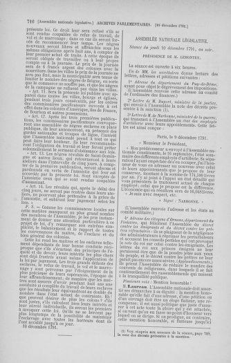 Tome 35 : Du 11 novembre au 10 décembre 1791 - page 716