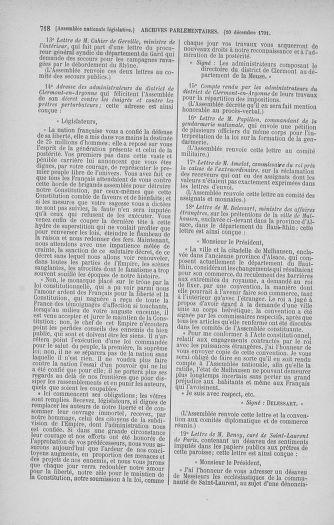 Tome 35 : Du 11 novembre au 10 décembre 1791 - page 718