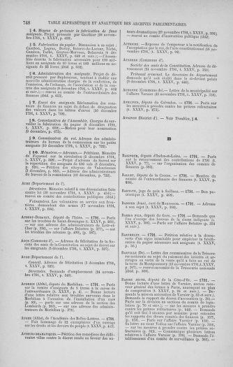 Tome 35 : Du 11 novembre au 10 décembre 1791 - page 748