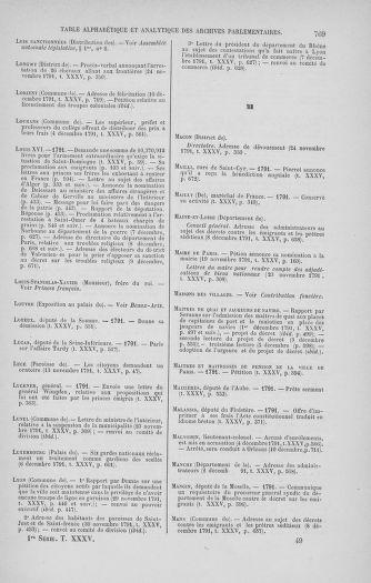 Tome 35 : Du 11 novembre au 10 décembre 1791 - page 769