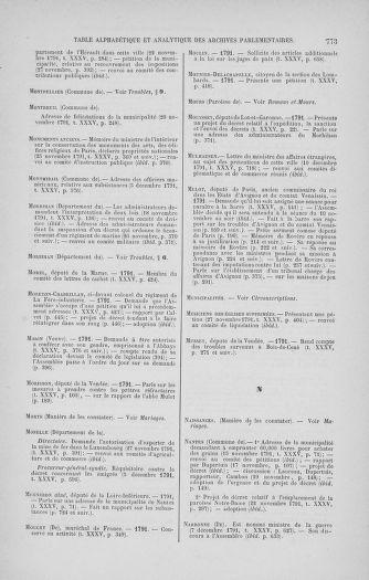Tome 35 : Du 11 novembre au 10 décembre 1791 - page 773