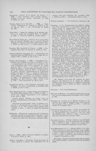 Tome 35 : Du 11 novembre au 10 décembre 1791 - page 774