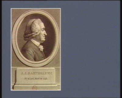 J.J. Barthelemy né en 1716, mort en 1795 : [estampe]