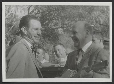 Bob Scobey and Clancy Hayes
