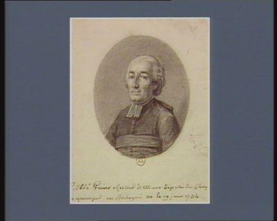<em>L</em>' Abbé Guino Recteur d'Elliant député du Clergé de quimper en Bretagne né le 19 juin 1734 : [dessin]