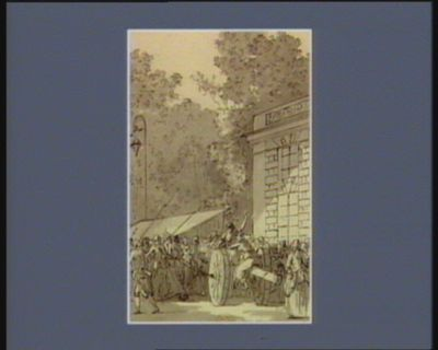 [Evénement du cinq octobre 1789] [dessin]