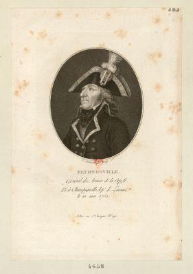 Beurnonville gènéral des armèes de la Rep. fr., né à Champignelle dept. de l'Yonne, le 10 mai 1752 : [estampe]