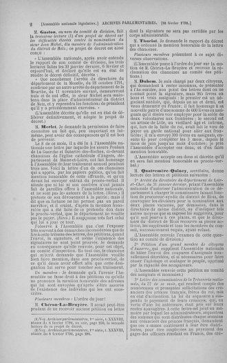Tome 39 : Du 22 février au 14 mars 1792 - page 2