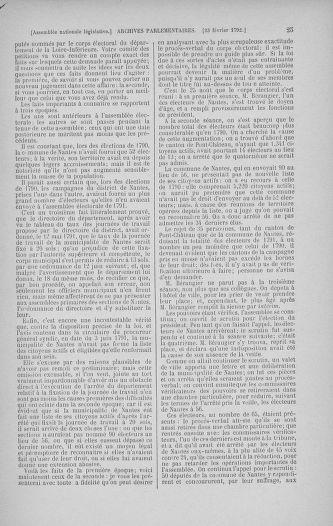 Tome 39 : Du 22 février au 14 mars 1792 - page 25