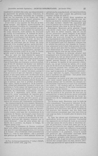 Tome 39 : Du 22 février au 14 mars 1792 - page 27