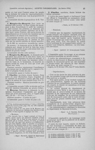 Tome 39 : Du 22 février au 14 mars 1792 - page 45