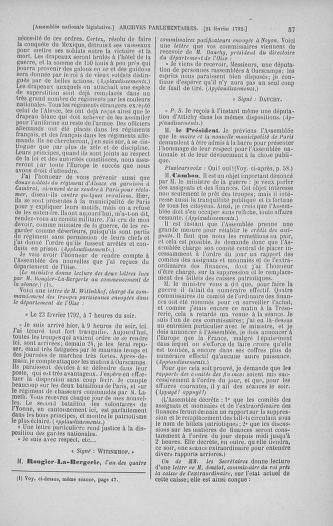 Tome 39 : Du 22 février au 14 mars 1792 - page 57