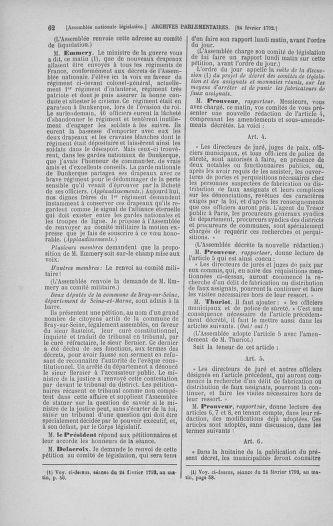 Tome 39 : Du 22 février au 14 mars 1792 - page 62