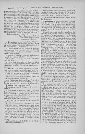 Tome 39 : Du 22 février au 14 mars 1792 - page 75