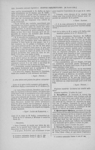 Tome 39 : Du 22 février au 14 mars 1792 - page 114