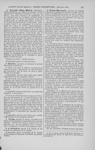 Tome 39 : Du 22 février au 14 mars 1792 - page 157