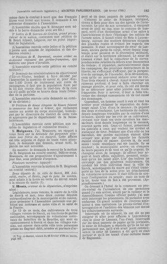 Tome 39 : Du 22 février au 14 mars 1792 - page 183