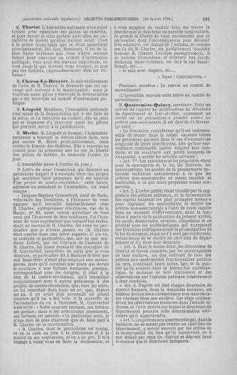 Tome 39 : Du 22 février au 14 mars 1792 - page 191