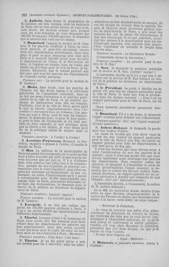 Tome 39 : Du 22 février au 14 mars 1792 - page 222