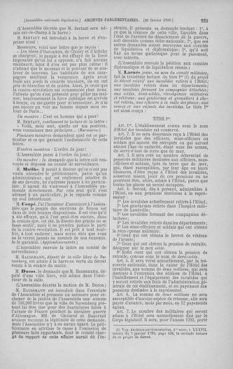 Tome 39 : Du 22 février au 14 mars 1792 - page 223