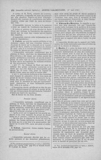 Tome 39 : Du 22 février au 14 mars 1792 - page 230