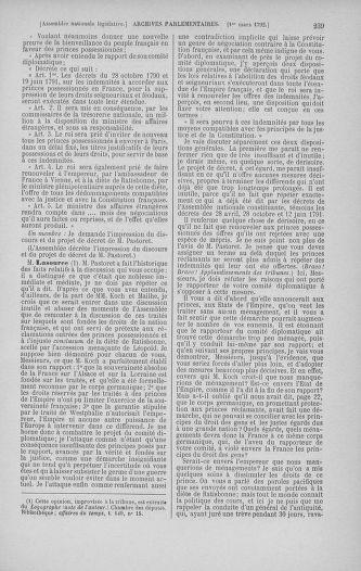 Tome 39 : Du 22 février au 14 mars 1792 - page 239