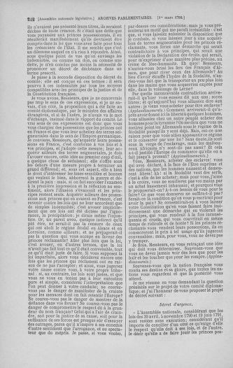 Tome 39 : Du 22 février au 14 mars 1792 - page 242