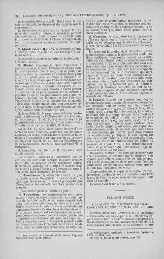 Tome 39 : Du 22 février au 14 mars 1792 - page 260