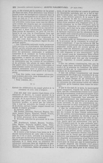 Tome 39 : Du 22 février au 14 mars 1792 - page 266