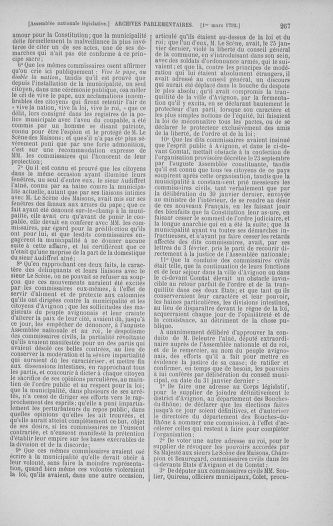 Tome 39 : Du 22 février au 14 mars 1792 - page 267