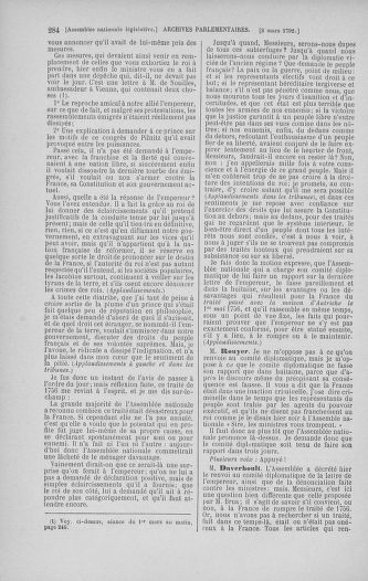 Tome 39 : Du 22 février au 14 mars 1792 - page 284