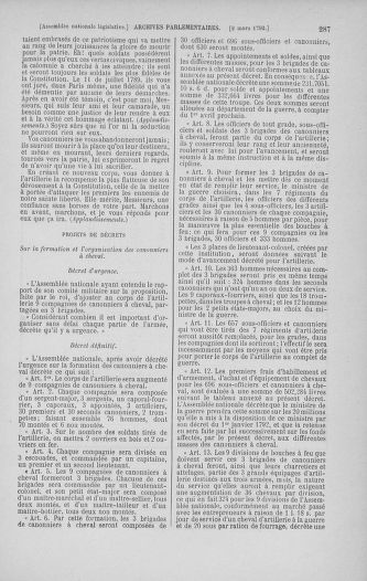 Tome 39 : Du 22 février au 14 mars 1792 - page 287