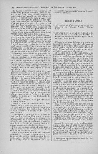 Tome 39 : Du 22 février au 14 mars 1792 - page 322