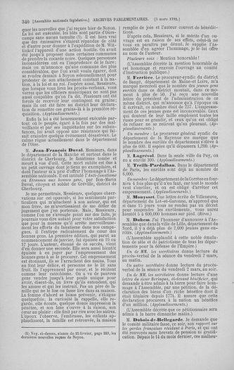 Tome 39 : Du 22 février au 14 mars 1792 - page 340