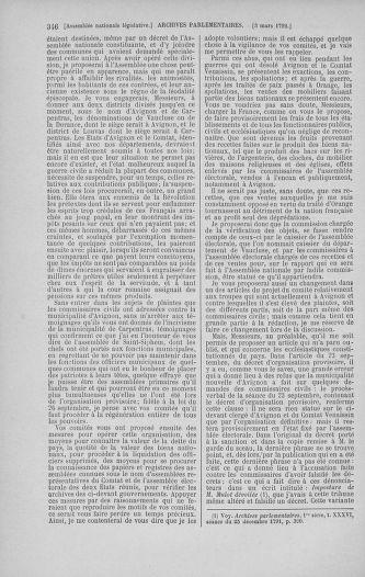 Tome 39 : Du 22 février au 14 mars 1792 - page 346