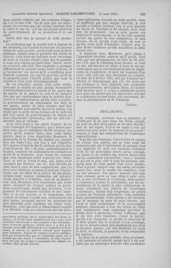 Tome 39 : Du 22 février au 14 mars 1792 - page 365
