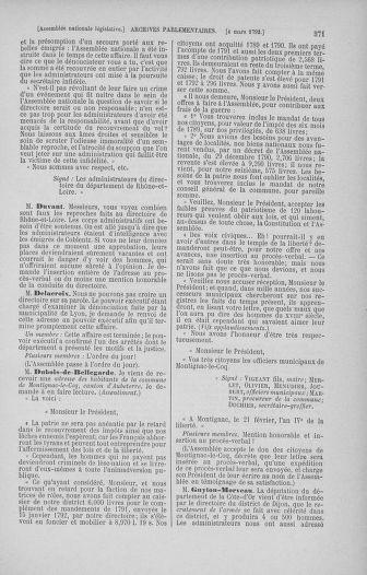 Tome 39 : Du 22 février au 14 mars 1792 - page 371