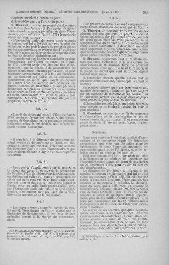 Tome 39 : Du 22 février au 14 mars 1792 - page 383