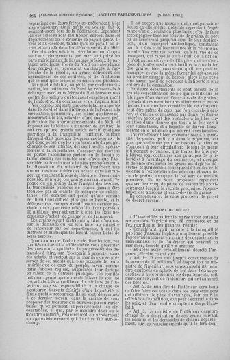 Tome 39 : Du 22 février au 14 mars 1792 - page 384