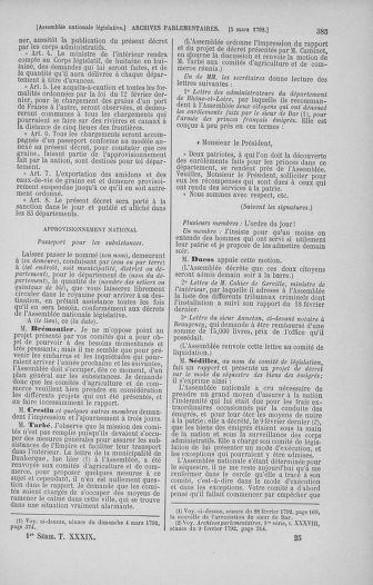Tome 39 : Du 22 février au 14 mars 1792 - page 385