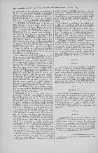 Tome 39 : Du 22 février au 14 mars 1792 - page 386
