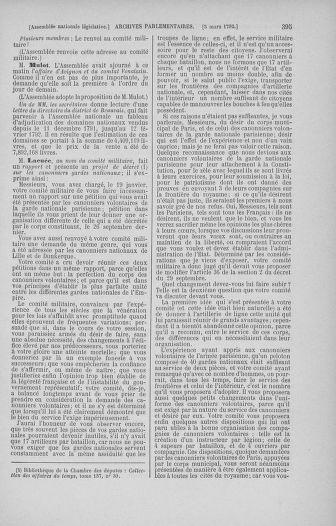 Tome 39 : Du 22 février au 14 mars 1792 - page 395
